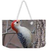 Red Bellied Woodpecker Pose Weekender Tote Bag
