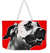 Red Blooded Scooby Dog Weekender Tote Bag