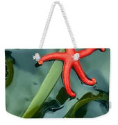 Red Bloodstar Weekender Tote Bag