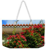 Red Blossom Weekender Tote Bag