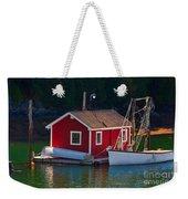 Red Boat House Weekender Tote Bag