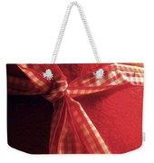 Red Bow Weekender Tote Bag