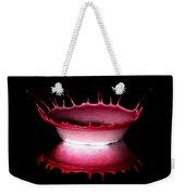 Red Bowl Weekender Tote Bag