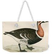 Red Breasted Goose Weekender Tote Bag