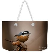 Red-breasted Nuthatch Pictures 36 Weekender Tote Bag