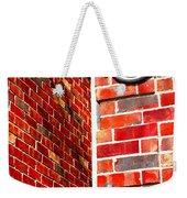 Red Bricks Weekender Tote Bag