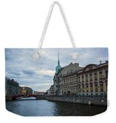 Red Bridge - St. Petersburg - Russia Weekender Tote Bag