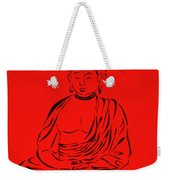 Red Buddha Weekender Tote Bag