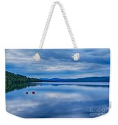 Red Buoys On Loch Rannoch Weekender Tote Bag