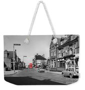 Red Bus And Red Telephone Box - 1960's    Ref-124-2 Weekender Tote Bag
