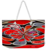 Red Button Orb Weekender Tote Bag