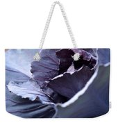Red Cabbage Abstract Weekender Tote Bag