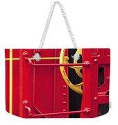 Red Caboose Weekender Tote Bag