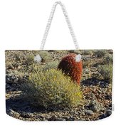 Red Cactus Weekender Tote Bag