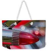 Red Cadillac Fins Weekender Tote Bag