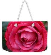 Red Camellia Weekender Tote Bag