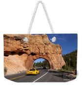 Red Canyon Near Bryce Canyon In Utah Weekender Tote Bag