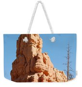 Red Canyon Rock Formation Weekender Tote Bag
