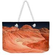 Red Canyon Swirls Weekender Tote Bag