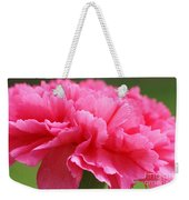 Red Carnation  Weekender Tote Bag