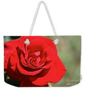 Red Carpet Rose Weekender Tote Bag