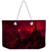 Red Castle Weekender Tote Bag