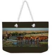 Red Cattle Weekender Tote Bag