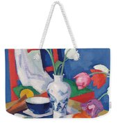 Red Chair And Tulips, C.1919 Weekender Tote Bag
