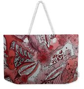 Red Chakra Weekender Tote Bag