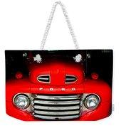Red Cheeks Ford Weekender Tote Bag