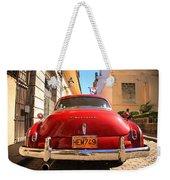 Red Chevrolet Weekender Tote Bag