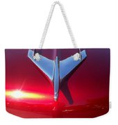 Red Chevy Car Hood  Weekender Tote Bag