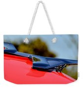 Red Chevy Hood Weekender Tote Bag