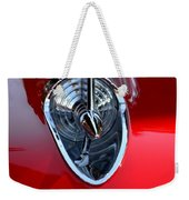 Red Chevy Hood Ornement Weekender Tote Bag