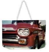 Red Chevy Pickup Weekender Tote Bag