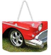 Red Classic Weekender Tote Bag