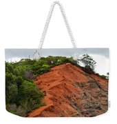 Red Cliff At Waimea Weekender Tote Bag