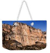 Red Cliffs Blue Sky Weekender Tote Bag