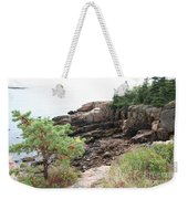 Red Cliffs Of Acadia  Weekender Tote Bag