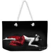 Red Cloth Nude 1 Weekender Tote Bag