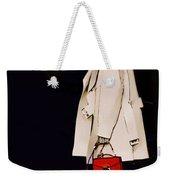 Red Clutch Weekender Tote Bag