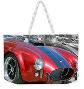 Red Cobra Weekender Tote Bag