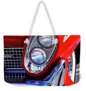 Red Hot Continental Palm Springs Weekender Tote Bag