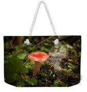 Red Coral Mushroom Weekender Tote Bag