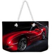 1997 Red Corvette Weekender Tote Bag