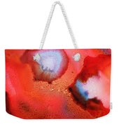 Red Cosmos Weekender Tote Bag