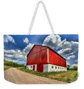 Red Country Barn Weekender Tote Bag