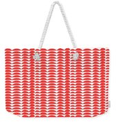 Red Cut Outs- Abstract Pattern Art Weekender Tote Bag