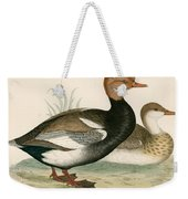 Red Crested Whistling Duck Weekender Tote Bag