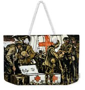 Red Cross Poster, 1915 Weekender Tote Bag